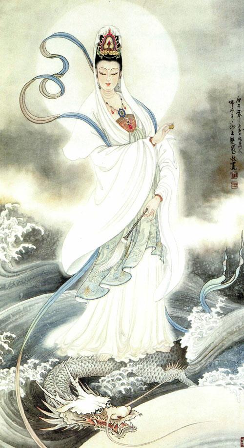 Quan Công truyền kỳ: Chuyển sinh từ Rồng lửa - Quan Âm Bồ Tát cưỡi rồng