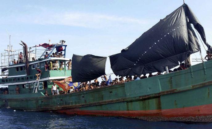 Thảm cảnh khốn cùng của người di cư Rohingya và Bangladesh trên biển - H8