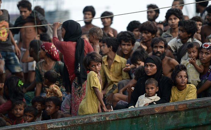 Thảm cảnh khốn cùng của người di cư Rohingya và Bangladesh trên biển - H12