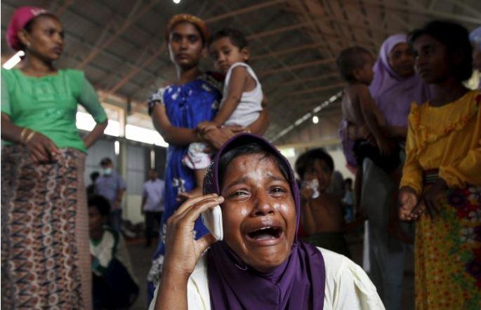 Thảm cảnh khốn cùng của người di cư Rohingya và Bangladesh trên biển - H16