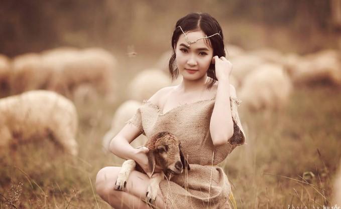 9X Đồng Nai xinh đẹp nuôi heo kiếm 70 triệu/tháng. 1