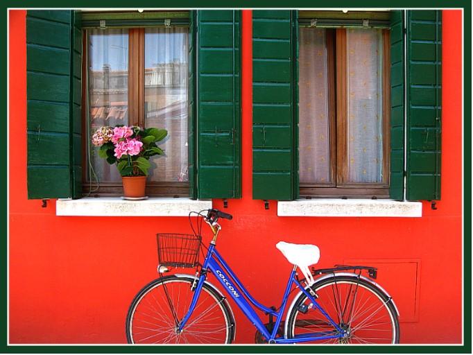 Đảo Burano đẹp như tranh vẽ.2