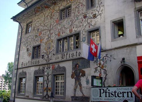 Lucerne- thành phố cổ nhất Thụy Sĩ - H5
