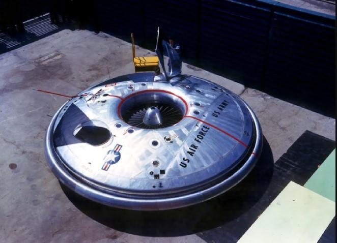 Dự án đĩa bay bí mật của Mỹ.1