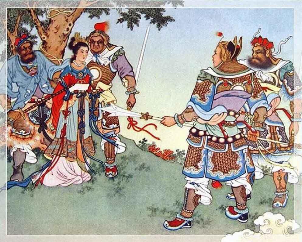 Bảo Liên Đăng truyền kì (P3):Trầm Hương chào đời, mẹchịu đọa hình dưới Hoa sơn - ảnh 2