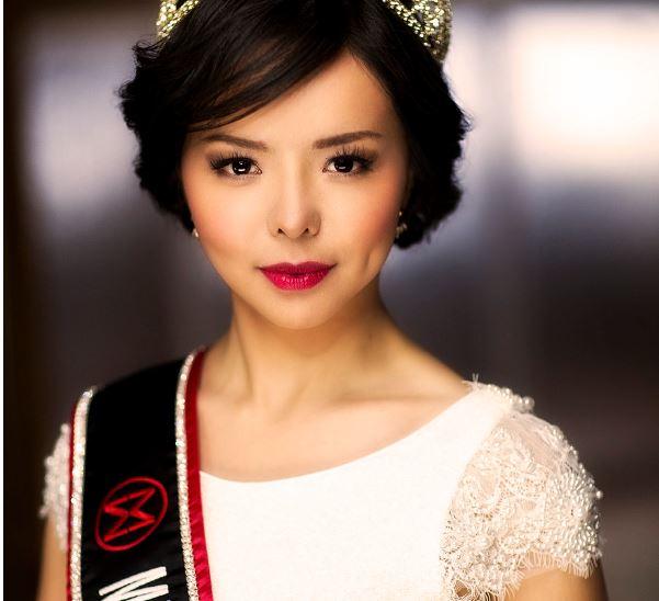 Anastasia Lin là đương kim hoa hậu thế giới của canada