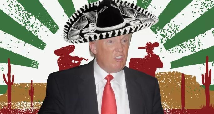 Thành phố Mexico quyết định cấm cửa Donald Trump. 1