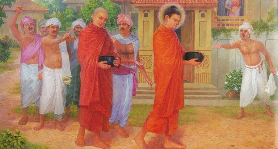 Phỉ báng người khác, đến Đức Phật cũng phải chịu báo ứng. Ảnh 1