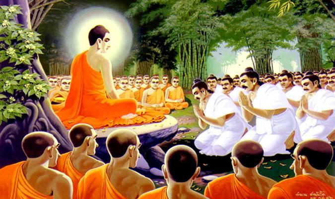 Đức Phật rơi ba giọt nước mắt làm chấn động đại thiên thế giới