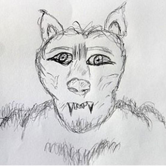 """""""Người sói"""" cao 2 mét xuất hiện ở Anh.2"""