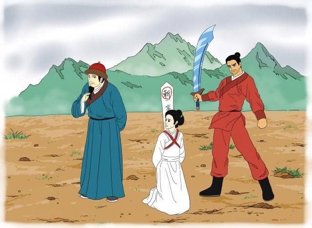 Câu chuyện luân hồi: Giết oan nàng Đậu Nga hơn 700 năm trước , kiếp này vẫn phải trả - ảnh 2