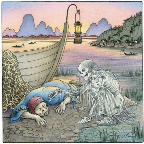 Nghe lời khuyên hướng thiện, quỷ nước được Ngọc Hoàng thay đổi số mệnh