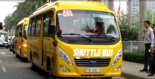 TP.HCM mở tuyến xe buýt 5 sao đi sân bay Tân Sơn Nhất và các bệnh viện lớn.3