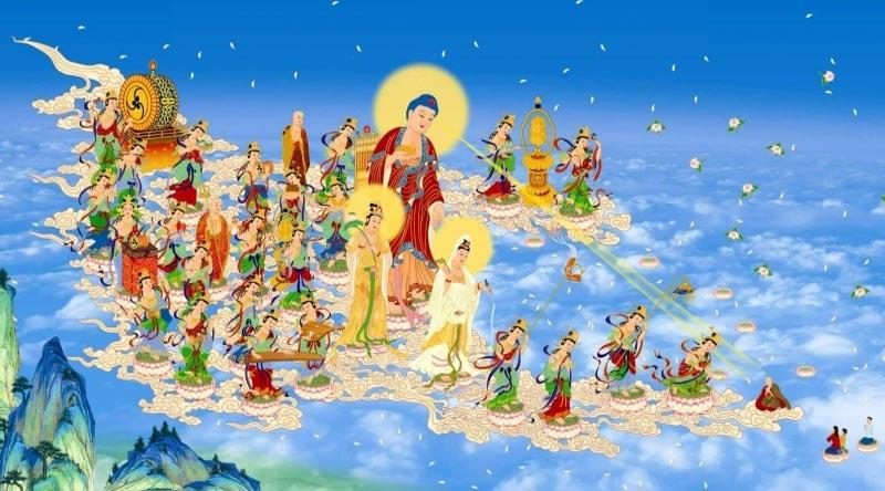 Hai anh em thi triển thần thông giúp cha mẹ tín Phật