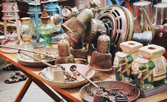 Chợ đồ cổ độc đáo giữa lòng Sài Gòn.4