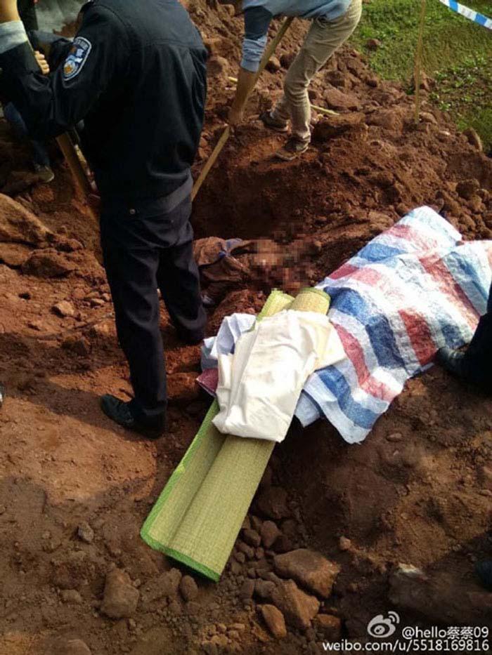 Ngăn cản cưỡng chế thu hồi đất, bà lão bị tài xế xe ủi chôn sống và cán chết - ảnh 5