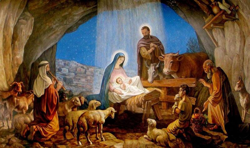 Phát hiện tranh vẽ cảnh Giáng sinh 3.000 năm trước khi Chúa Jesus giáng trần - ảnh 2
