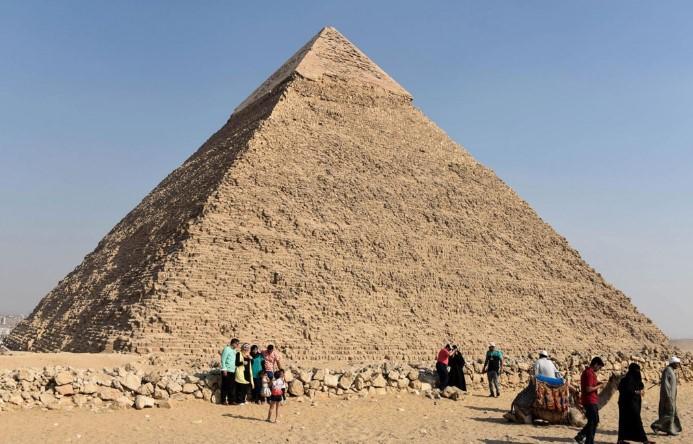 Đại kim tự tháp Giza: Biểu tượng cho nền công nghệ tiên tiến của người cổ đại - H2