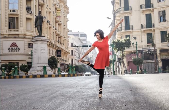 Khám phá vẻ đẹp tiềm ẩn của thành phố Cairo qua những điệu múa ba lê - H1