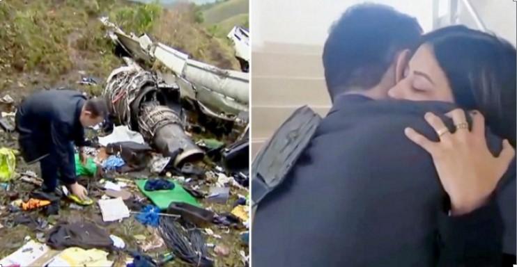 Tin vào Chúa, cầu thủ Brazil sống sót thần kỳ sau vụ rơi máy bay.1
