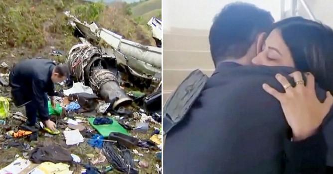 Nhờ đức tin vào Chúa, cầu thủ Brazil đã may mắn sống sót trong vụ rơi máy bay?.1