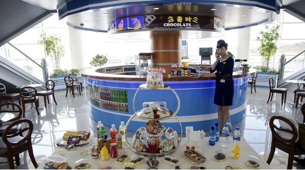 Một góc sân bay Bình Nhưỡng.