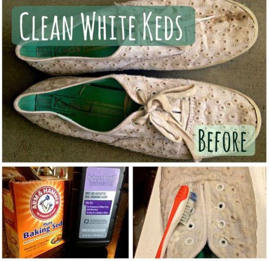 Giày trắng như mới chỉ bằng 1 bước - H2