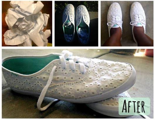 Giày trắng như mới chỉ bằng 1 bước - H3