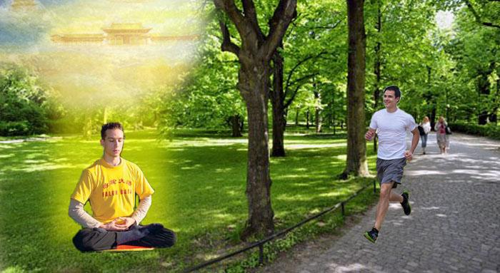 Chấn động khi thấy cột sáng màu vàng, thầy phong thủy mới biết thế gian đâu là cao nhân - ảnh 1
