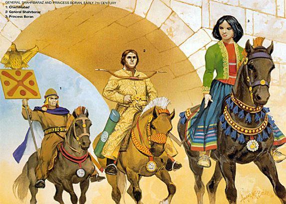Những người phụ nữ nổi tiếng của thành Ba Tư - H7
