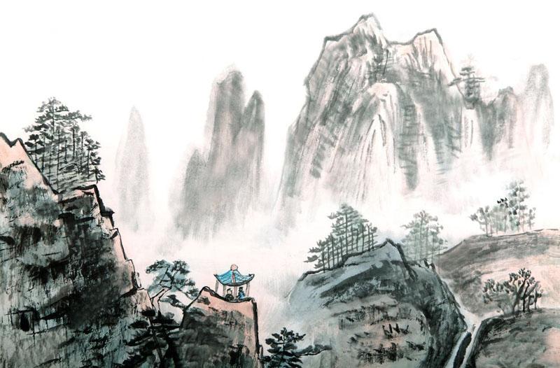 Cảnh giới trí tuệ: Núi cao không lời, nước sâu không có sóng