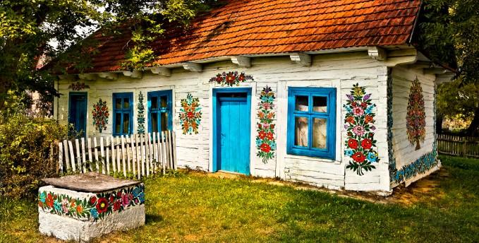 Zalipie - Ngôi làng rực rỡ sắc hoa ở Balan.12