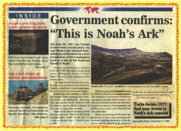 Bí ẩn Đại Hồng Thủy: Video bị che giấu tiết lộ những gì được tìm thấy trong con tàu Noah - ảnh 7