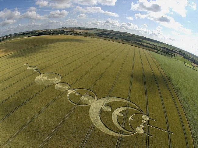Những vòng tròn bí ẩn trên cánh đồng: Tuyệt tác của người ngoài hành tinh? - ảnh 2