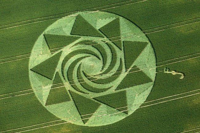 Những vòng tròn bí ẩn trên cánh đồng: Tuyệt tác của người ngoài hành tinh? - ảnh 3