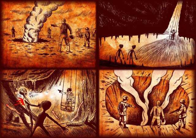 Trận chiến giữa người ngoài hành tinh với con người năm 1979 tại New Mexico: Lời kểtừ nhân chứng