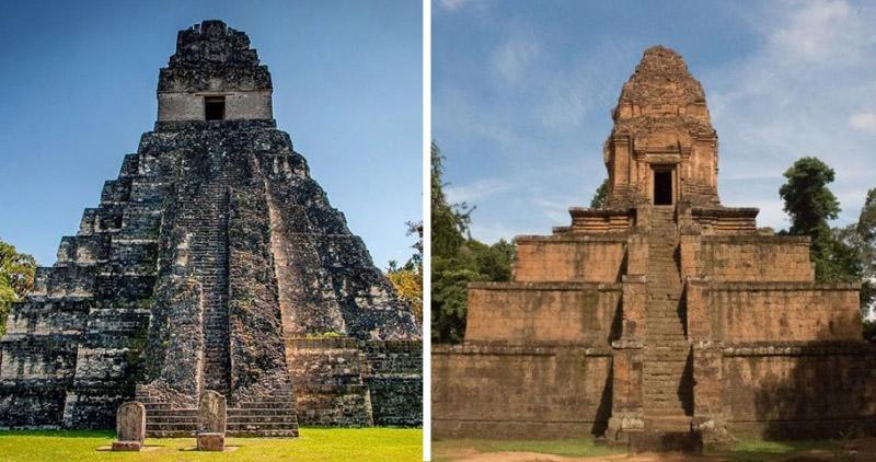 Bí ẩn văn hóa thần truyền: Sự giống nhau kỳ lạ của 2 ngôi đền cách xa nửa vòng Trái đất
