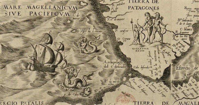 Châu Mỹ từng là vùng đất của những nàng tiên cá, người khổng lồ và loài rồng? - ảnh 1