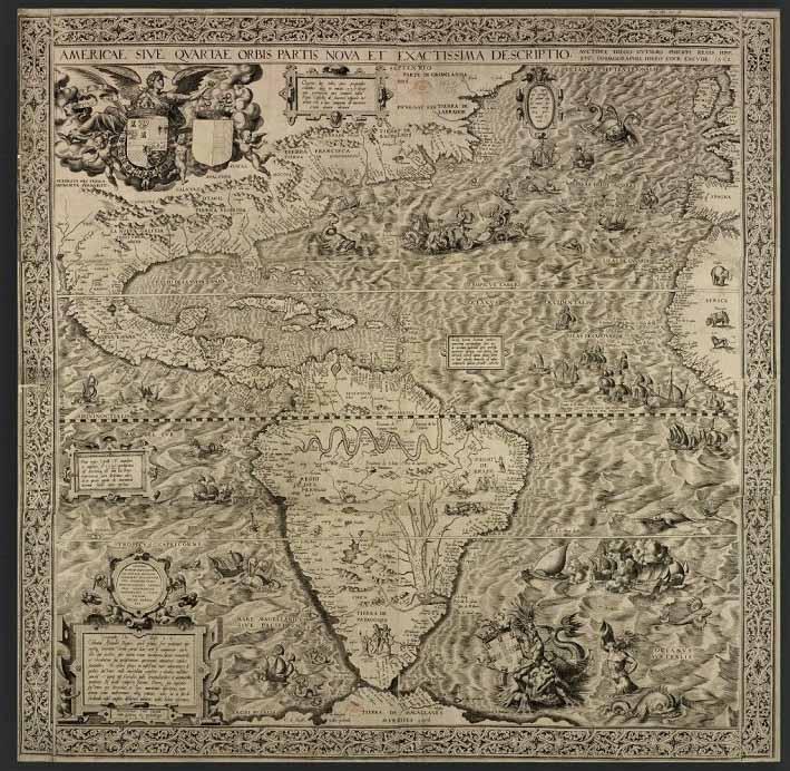 Châu Mỹ từng là vùng đất của những nàng tiên cá, người khổng lồ và loài rồng? - ảnh 2