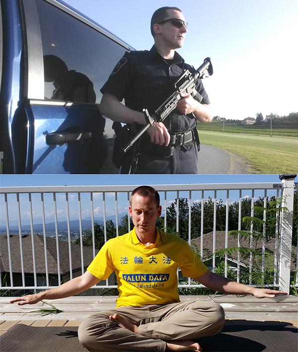 Cảnh sát thế giới tập Pháp Luân Công trong khi đồng nghiệp Trung Quốc đàn áp gần 20 năm