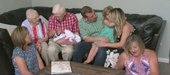 Chuyện hy hữu: Gia đình 3 thế hệ có cùng ngày sinh.3