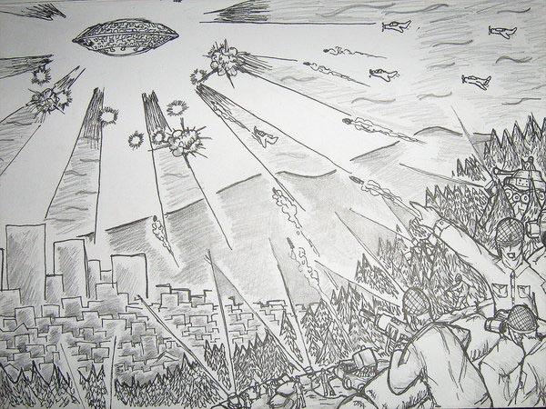 Video: UFO từng xuất hiện trong Thế chiến II ở Los Angeles? - ảnh 2
