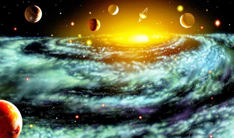 Tất cả ác yếu tố và định luật chi phối trong vũ trụ đã được sắp xếp theo một cách vô cùng chính xác để sự sống có thể tồn tại. (Ảnh: Internet)