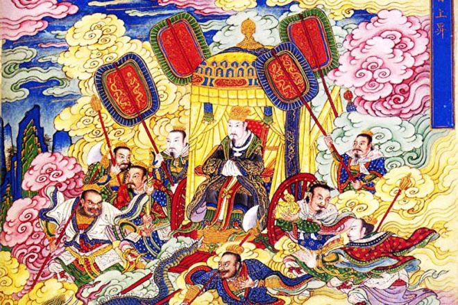 Câu chuyện lịch sử: Chân Vũ Đại Đế trợ giúp Yến Vương giành ngôi vị - H2