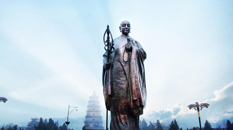 Ghi chép lịch sử: Thần tích trong hành trình lấy kinh của Huyền Trang - ảnh 1