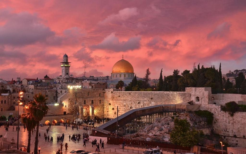 Cô sinh ra ở Jerusalem, Thánh địa của nhiều tôn giáo. (Ảnh: Internet)
