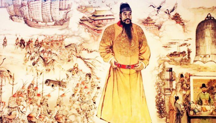 Câu chuyện lịch sử: Chân Vũ Đại Đế trợ giúp Yến Vương giành ngôi vị - H1