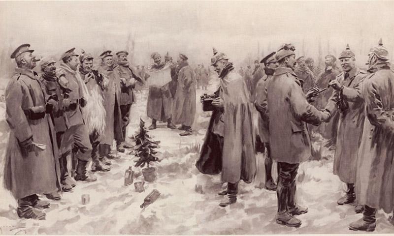 Phút đình chiến kỳ diệu trong đêm Giáng sinh hơn 100 năm trước - ảnh 2