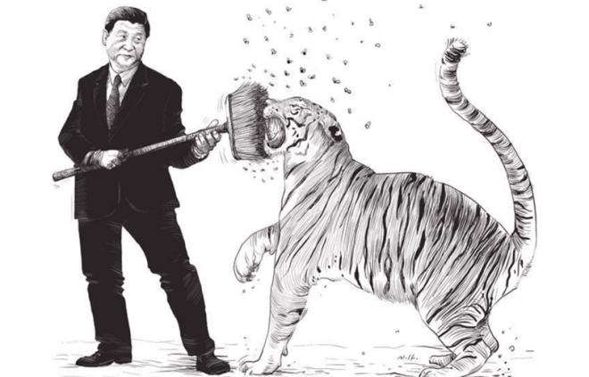 Chống tham nhũng ở Trung Quốc chỉ là nói suông, mấu chốt nằm ở thể chế.