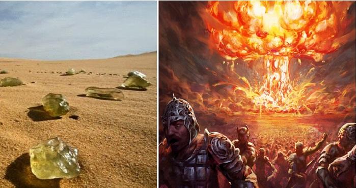 Những viên đá thủy tinh trên sa mạc Ai Cập là dấu tích của vụ bom nguyên tử thời tiền sử? 1